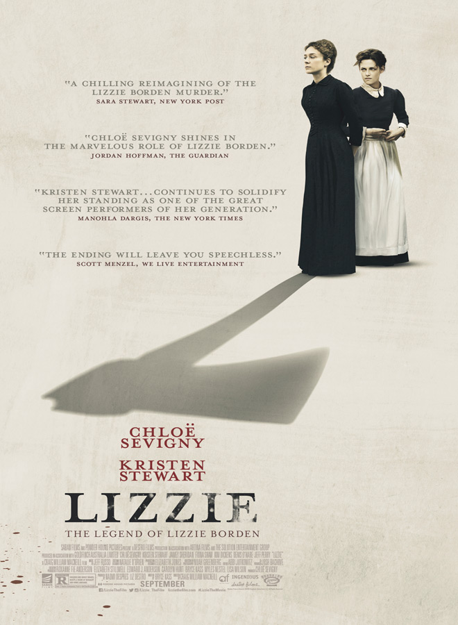 lizzie poster - Lizzie (Movie Review)