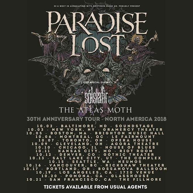 paradise lost tour - Interview - Nick Holmes of Paradise Lost