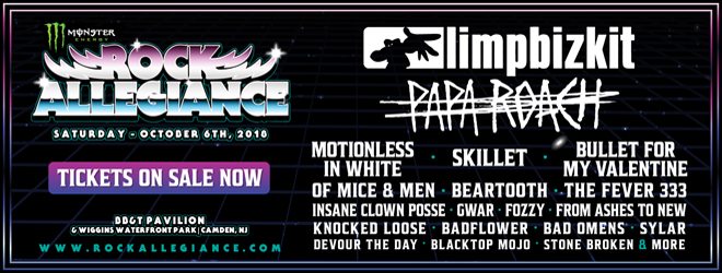 rock allegiance 2018 - Monster Energy Rock Allegiance Set To Return October 6th