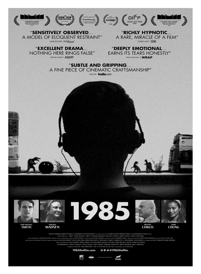 1985 TheatricalPoster FINAL 2018 08 15 - 1985 (Movie Review)
