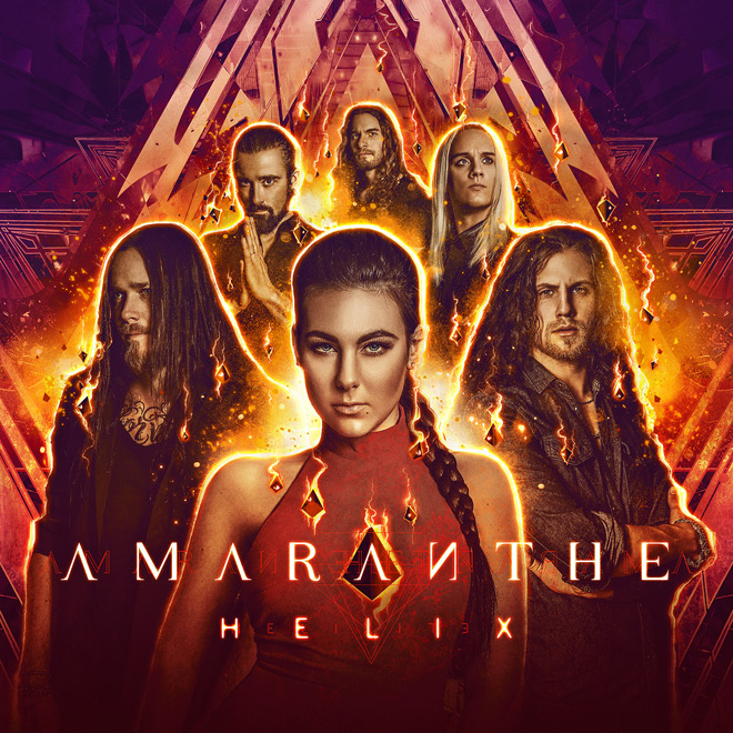 Helix 2 - Amaranthe - Helix (Album Review)