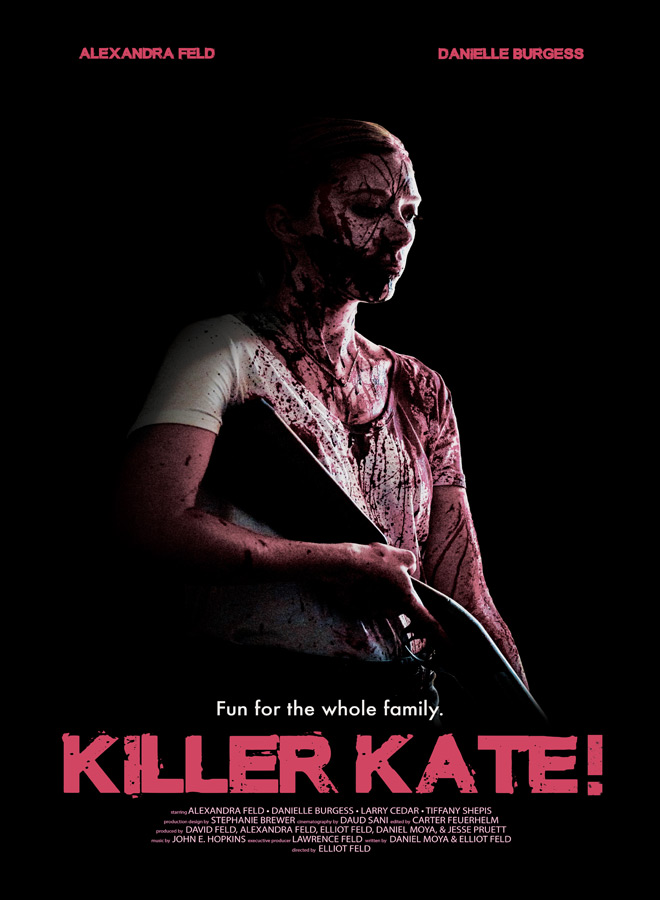 KillerKate poster - Interview - Danielle Burgess
