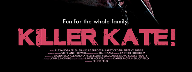 KillerKate slide - Killer Kate! (Movie Review)
