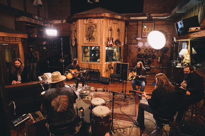 blackberry smoke promo - Blackberry Smoke - The Southern Ground Sessions (EP Review)