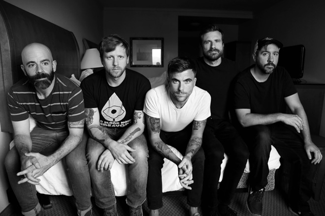 circa survive promo - Circa Survive - The Amulet (Album Review)