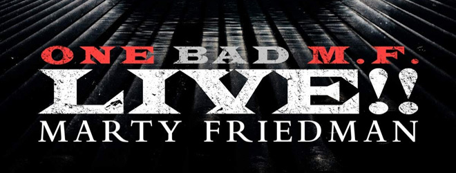 marty album slide - Marty Friedman - One Bad M.F. Live!! (Album Review)