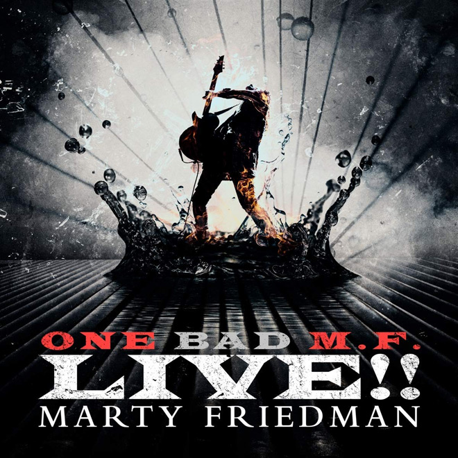 marty album - Marty Friedman - One Bad M.F. Live!! (Album Review)