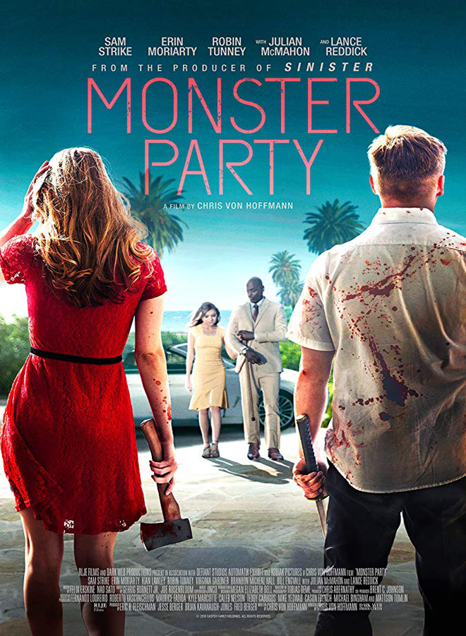 monster party poster - Monster Party (Movie Review)