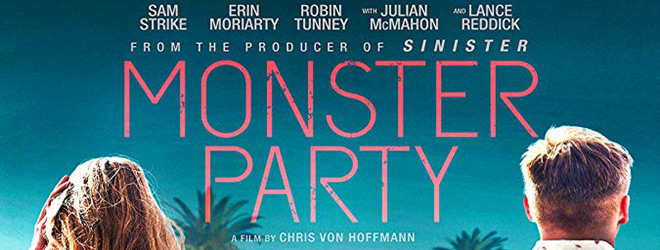 monster party slide - Monster Party (Movie Review)