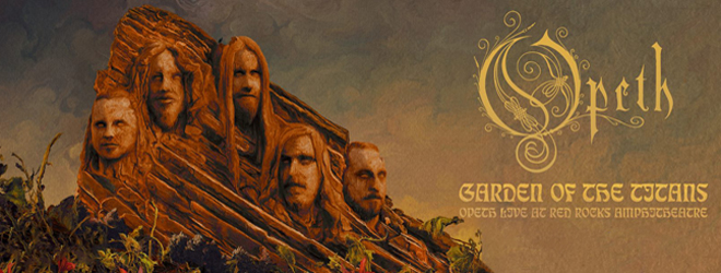 opeth slide - Opeth - Garden of the Titans: Live at Red Rocks Amphitheater (Live Album Review)