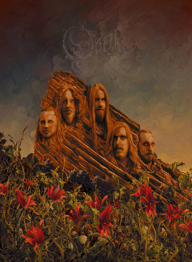 opethgardenofthetitans 768x937 - Opeth - Garden of the Titans: Live at Red Rocks Amphitheater (Live Album Review)