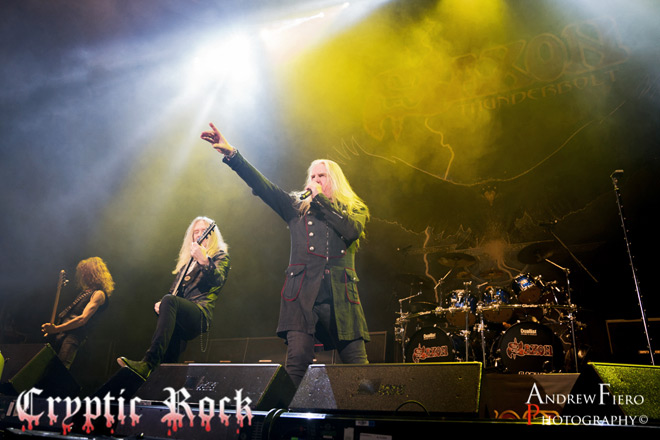 saxon live - Interview - Biff Byford of Saxon