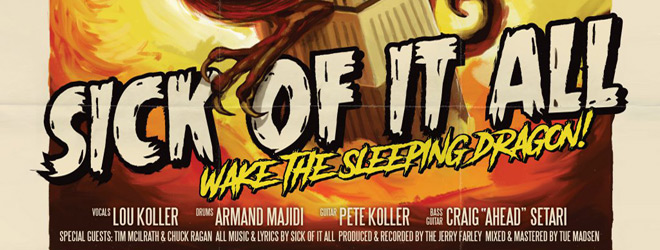 sick of it all slide - Sick of It All - Wake the Sleeping Dragon (Album Review)