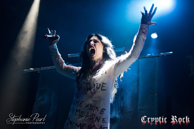 LacunaCoil PlaystationTheater 092917 StephPearl 02 - Interview - Cristina Scabbia Talks Two Decades Of Lacuna Coil