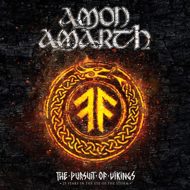 amon 2018 cover - Amon Amarth - The Pursuit of Vikings: 25 Years in the Eye of the Storm (Documentary Review)