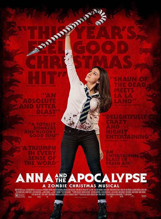 anne poster - Anna and the Apocalypse (Movie Review)