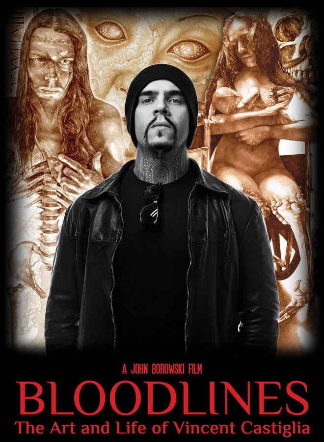bloodlines poster - Bloodlines: The Art & Life of Vincent Castiglia (Documentary Review)