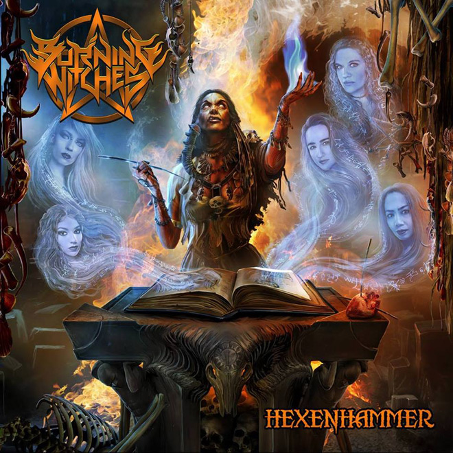 burning witch - Burning Witches - Hexenhammer (Album Review)