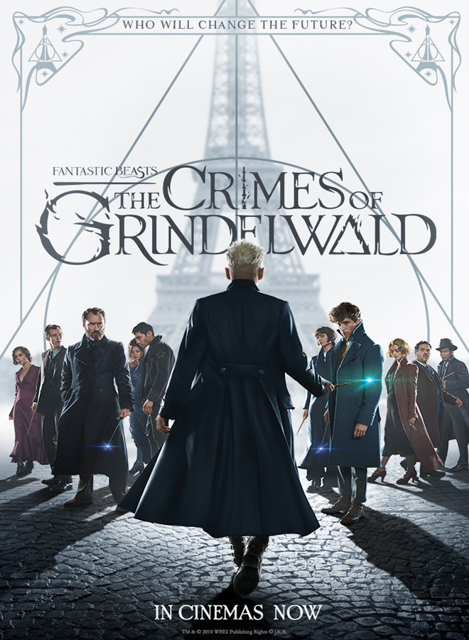 fan poster 2 - Fantastic Beasts: The Crimes of Grindelwald (Movie Review)