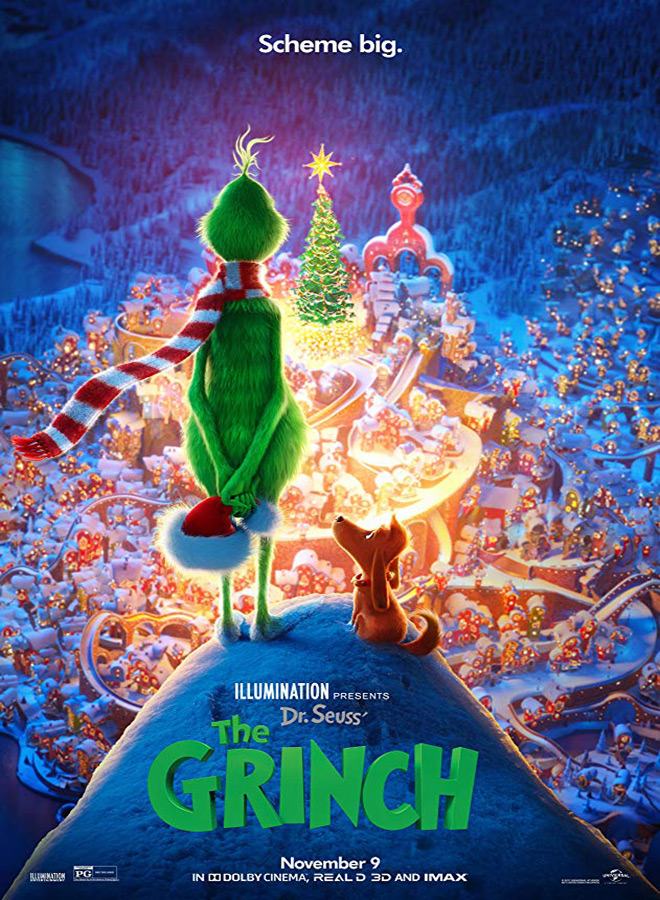 grinch poster - The Grinch (Movie Review)