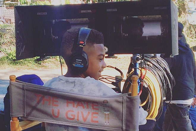 the hate u give onset - Interview - TJ Wright