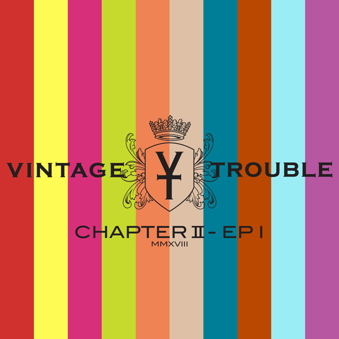 vintage trouble ep cover - Vintage Trouble - Chapter II (EP Review)