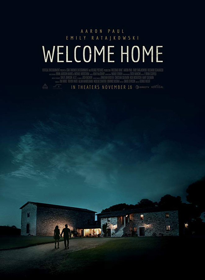 welcome home poster - Welcome Home (Movie Review)