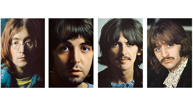white album promo - The Beatles' White Album 50 Years Later
