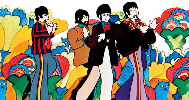 yellow 1 - The Beatles' Yellow Submarine - It Was 50 Years Ago Today