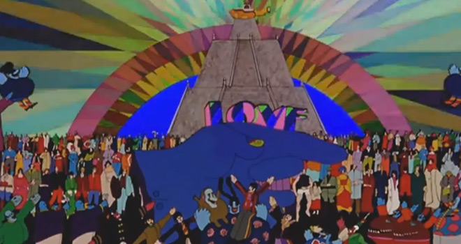 yellow 4 - The Beatles' Yellow Submarine - It Was 50 Years Ago Today