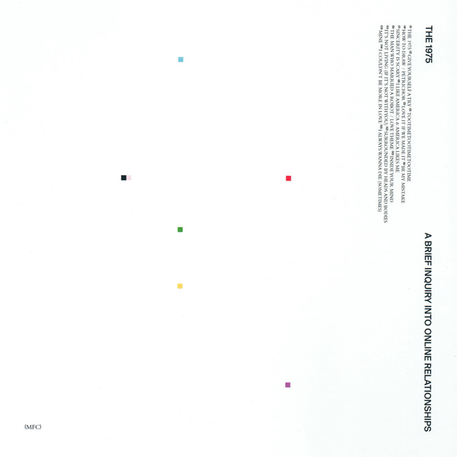 a brief 1975 cover - The 1975 - A Brief Inquiry into Online Relationships (Album Review)