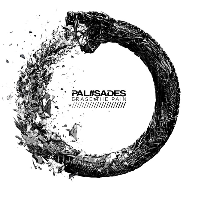 palisades album cover - Palisades - Erase The Pain (Album Review)