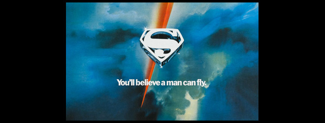 superman banner anniversary - Superman - 40 Years of Flight