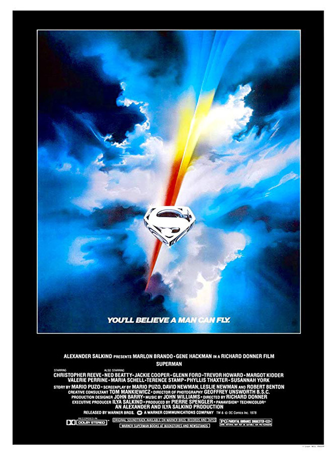 superman poster - Superman - 40 Years of Flight