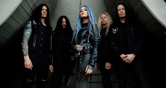 arch enemy covered promo - Arch Enemy - Covered in Blood (Album Review)