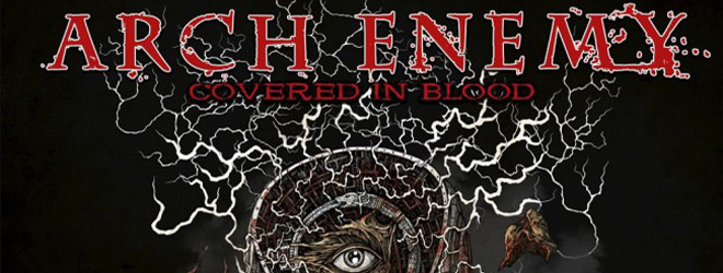 arch enemy covered slide - Arch Enemy - Covered in Blood (Album Review)