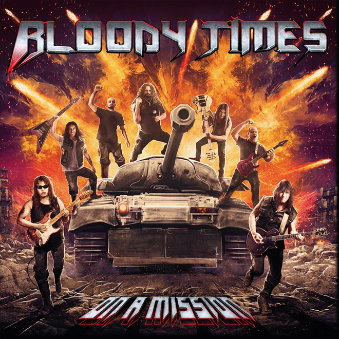 bloody times album - Bloody Times - On A Mission (Album Review)