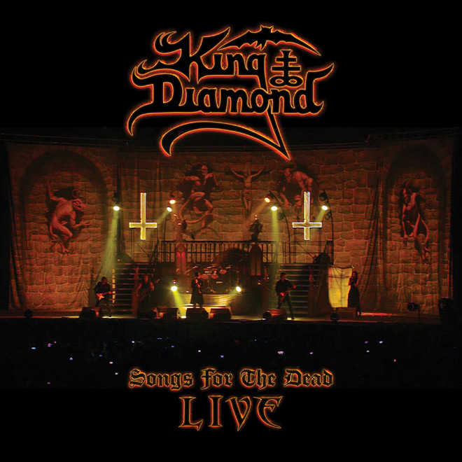 king diamond live - King Diamond - Songs For The Dead Live (Album Review)