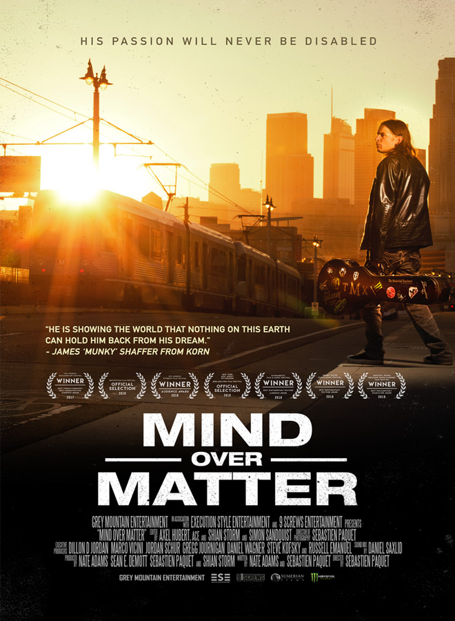 mind over matter poster - Mind Over Matter (Documentary Review)