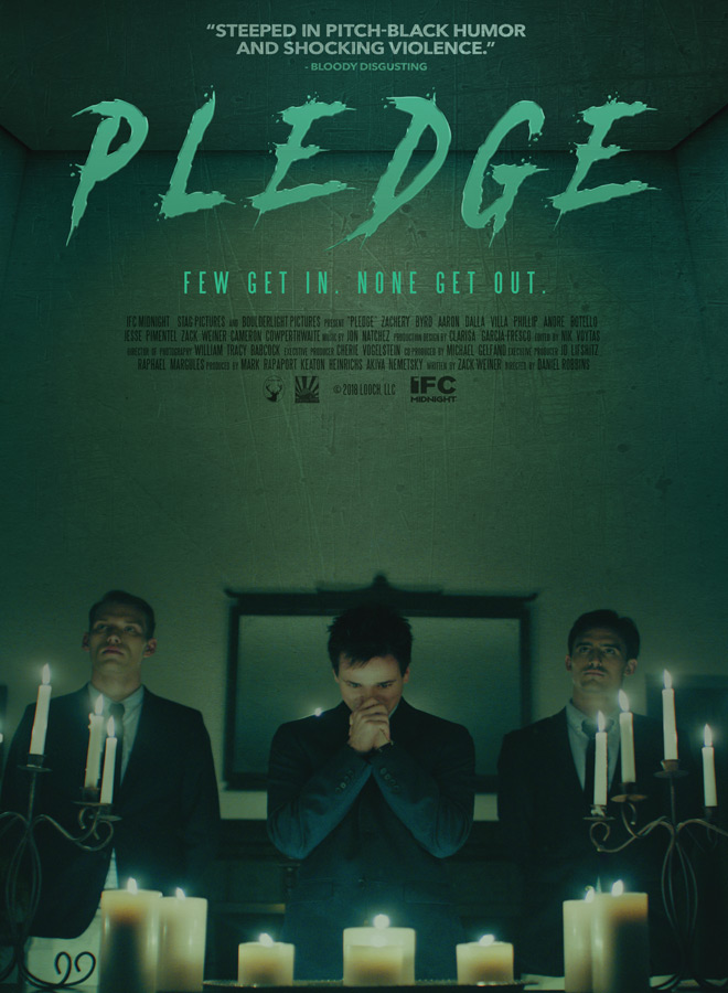 pledge poster - Pledge (Movie Review)