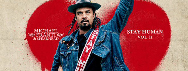 stay human slide - Michael Franti & Spearhead -  (Album Review)