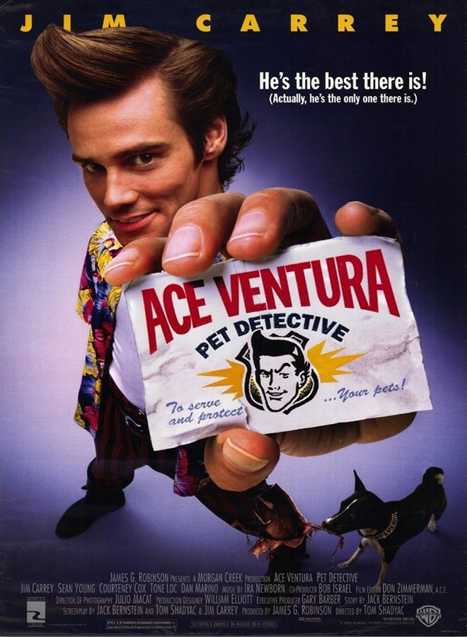 ace poster - Ace Ventura: Pet Detective - 25 Years In The Wild