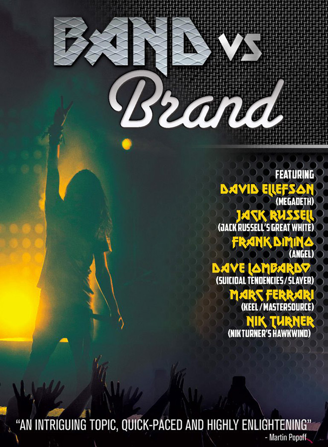 band vs brand poster - Band Vs Brand (Documentary Review)