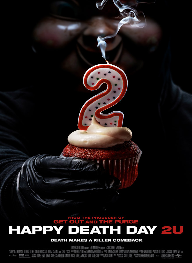 happy deathday 2u poster - Happy Death Day 2U (Movie Review)