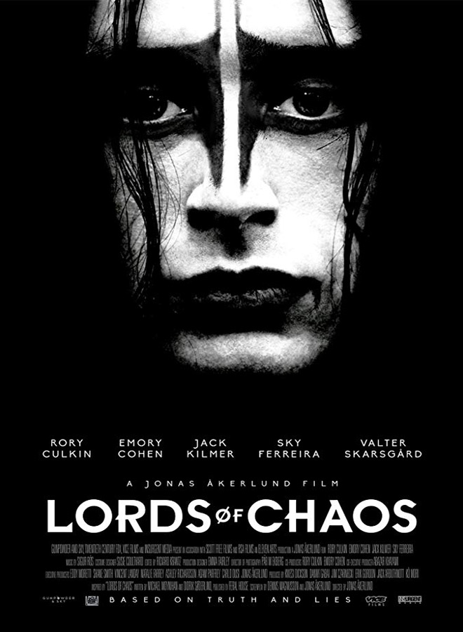 lords of chaos poster - Lords of Chaos (Movie Review)