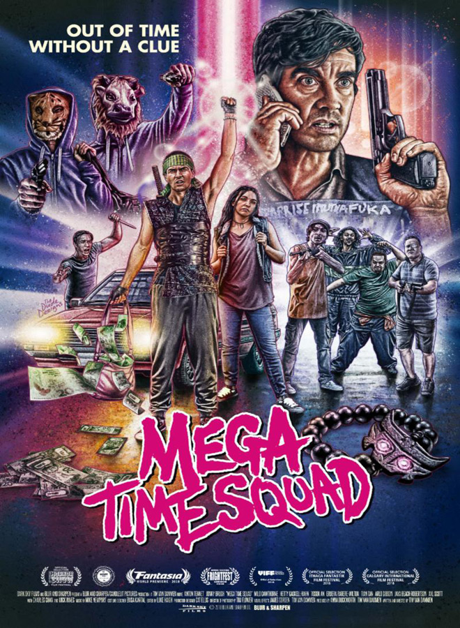 mega time squad poster - Mega Time Squad (Movie Review)