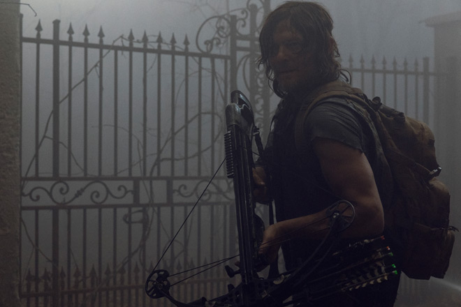 norman walking - Interview - Norman Reedus