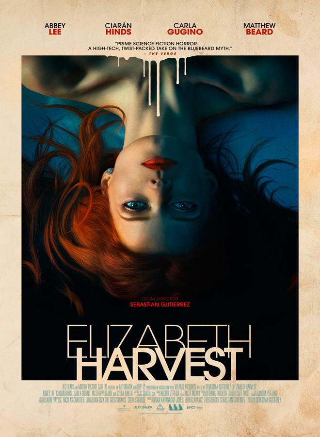 Elizabeth Harvest Poster - Elizabeth Harvest (Movie Review)