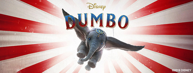 dumbo banner - Dumbo (Movie Review)