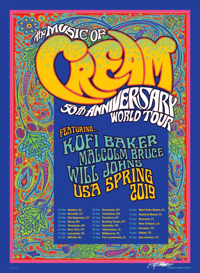 music of cream tour - Interview - Malcolm Bruce Talks The Music of Cream